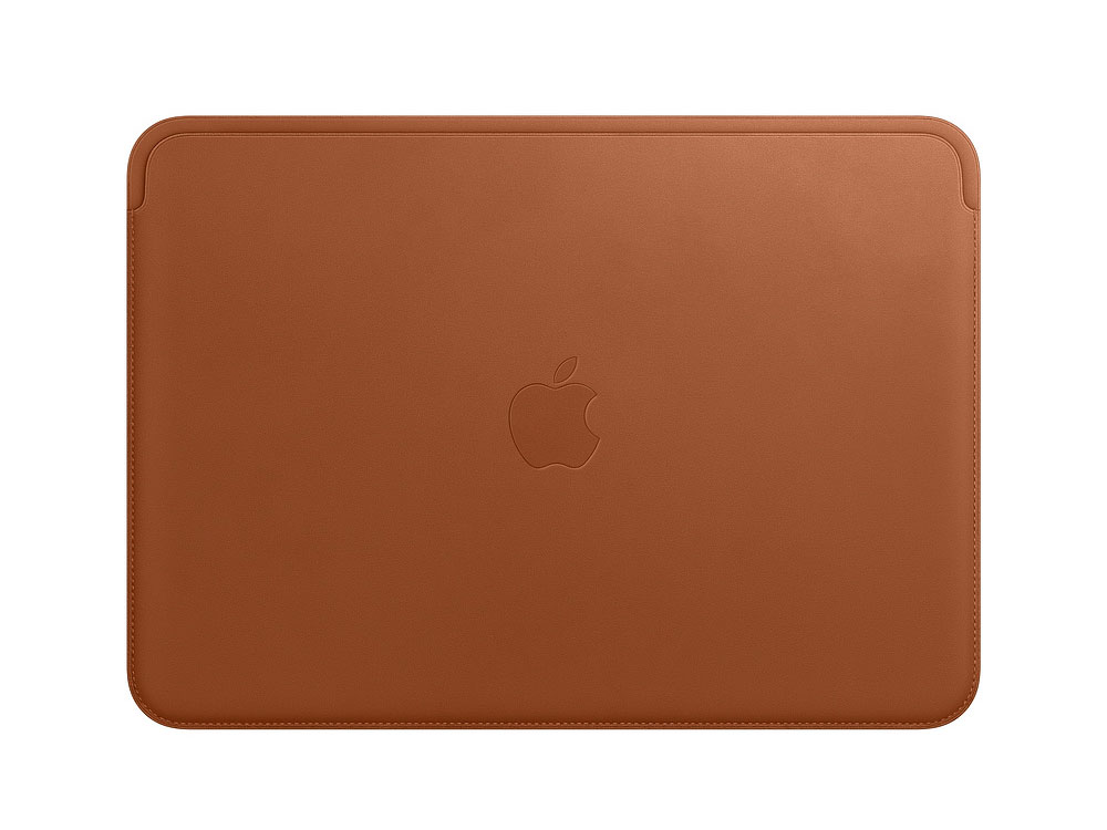 Чехол для ноутбука MacBook Air 12 Apple Leather Sleeve коричневый MQG12ZM/A ducare kabuki brush flat foundation makeup brushes professional liquid foundation brush cosmetic tool pincel maquiagem 1 pc
