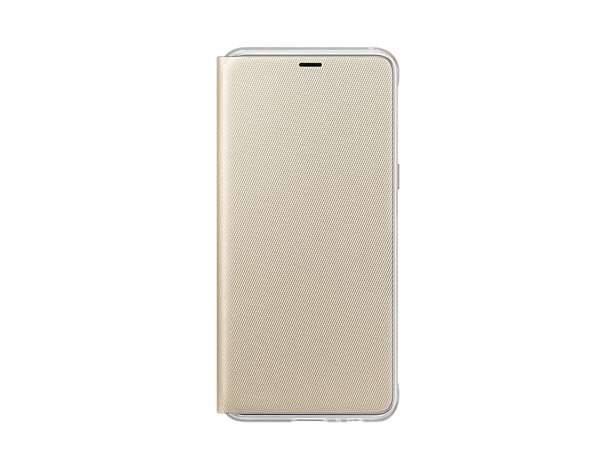 Чехол-книжка для Samsung Galaxy A8 Neon  Flip Cover Gold флип, поликарбонат, полиуретан