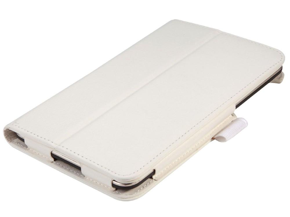 Чехол IT BAGGAGE для планшета LENOVO TB3 Essential  7 710i/710F  белый ITLN710-0 чехол для планшета it baggage для memo pad 8 me581 черный itasme581 1 itasme581 1