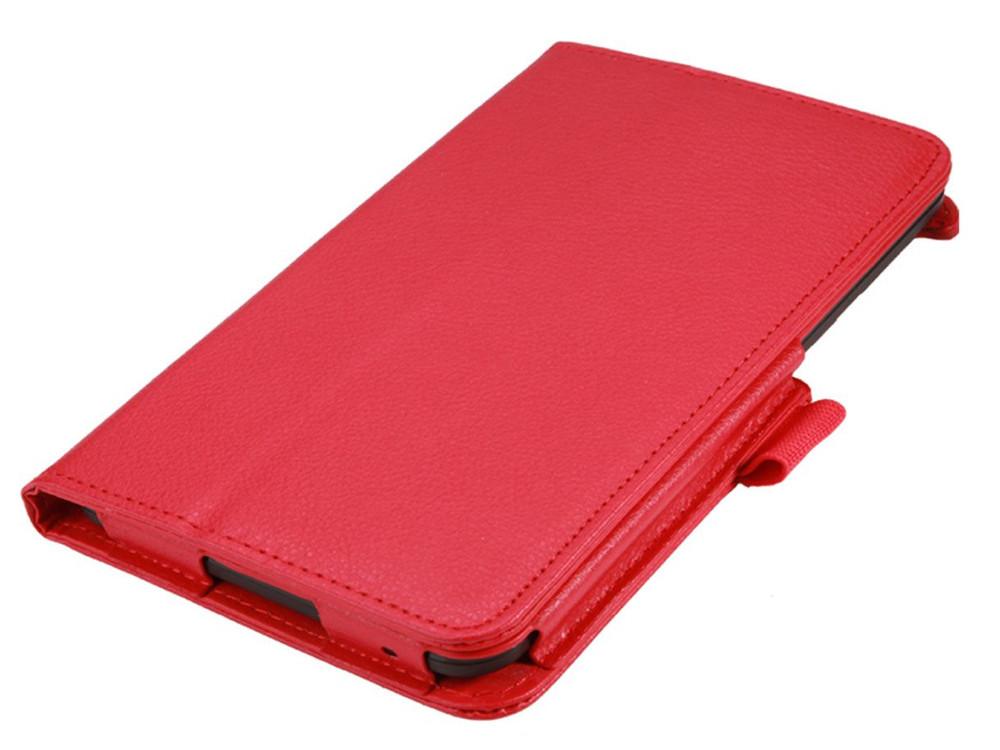 Чехол IT BAGGAGE для планшета LENOVO TB3 Essential  7 710i/710F  красный ITLN710-3 чехол для планшета it baggage для memo pad 7 me572c ce красный itasme572 3 itasme572 3