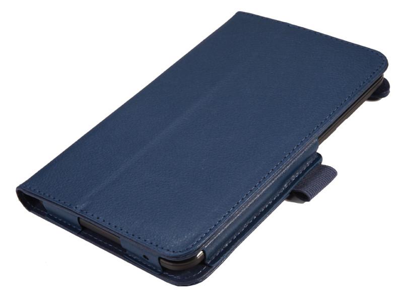 Чехол IT BAGGAGE для планшета LENOVO TB3 Essential  7 710i/710F синий ITLN710-4 чехол для lenovo tab 3 tb3 x70l it baggage эко кожа синий