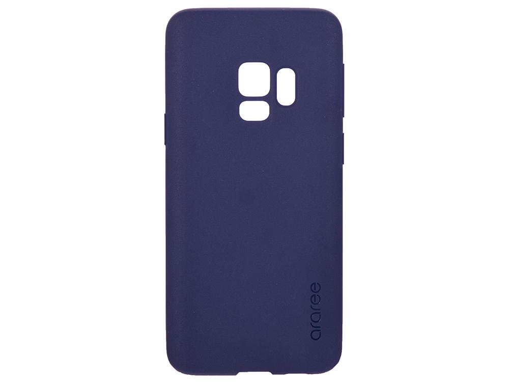 Чехол-накладка для Samsung Galaxy S9 Samsung KDLAB Inc Airfit Blue клип-кейс, полиуретан blue flower design кожа pu откидной крышки кошелек карты держатель чехол для samsung j5prime