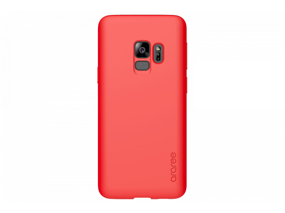 Чехол-накладка для Samsung Galaxy S9 Samsung KDLAB Inc Airfit POP Red клип-кейс, поликарбонат чехол клип кейс samsung для samsung galaxy s9 airfit pop фиолетовый gp g965kdcpbic
