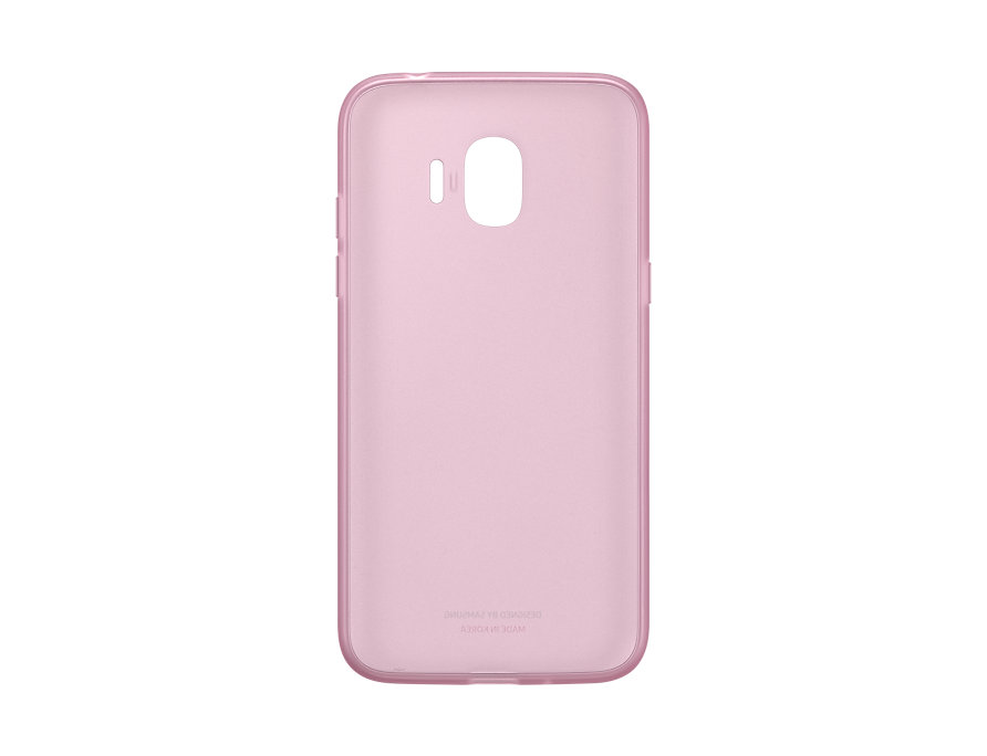 Чехол (клип-кейс) Samsung для Samsung Galaxy J2 (2018) Jelly Cover розовый (EF-AJ250TPEGRU) чехол флип кейс samsung для samsung galaxy a6 2018 wallet cover золотистый ef wa605cfegru
