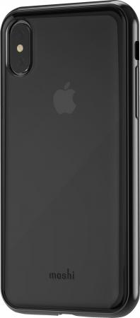 Накладка Moshi Vitros для iPhone X чёрный 99MO103031 hena new stereo wireless bluetooth earphone ear hook headset not earbuds headphones hd call wireless earphone for phone with mic