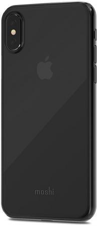 Накладка Moshi SuperSkin для iPhone X чёрный 99MO111063 adidas denim superskin