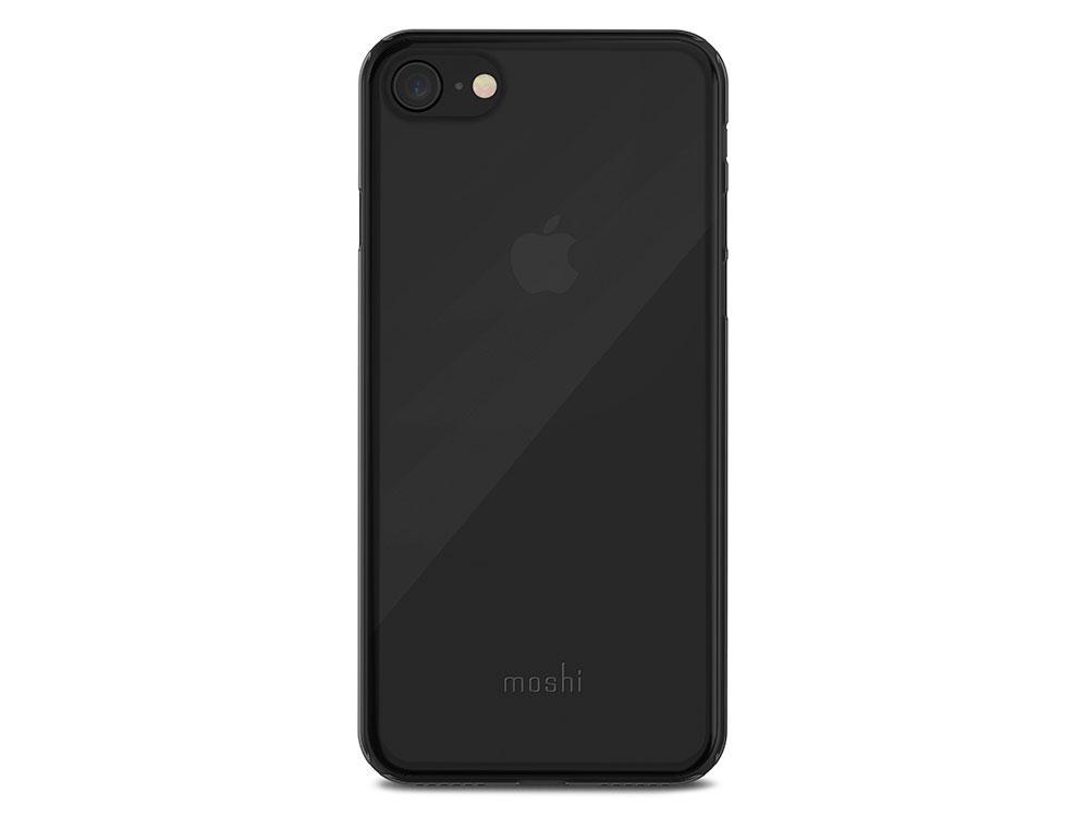 Накладка Moshi SuperSkin для iPhone 7 iPhone 8 чёрный 99MO111061 чехол moshi luxe для iphone 7 plus чёрный 99mo090202