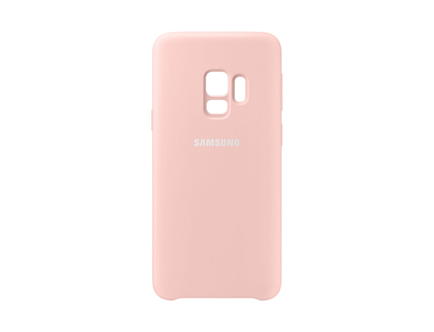 Чехол (клип-кейс) Samsung для Samsung Galaxy S9 Silicone Cover розовый (EF-PG960TPEGRU) чехол клип кейс samsung clear cover для samsung galaxy s8 черный [ef qg955cbegru]