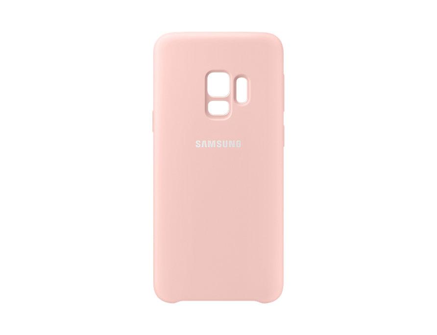 Чехол (клип-кейс) Samsung для Samsung Galaxy S9 Silicone Cover розовый (EF-PG960TPEGRU) чехол клип кейс samsung silicone cover для samsung galaxy s8 зеленый [ef pg955tgegru]