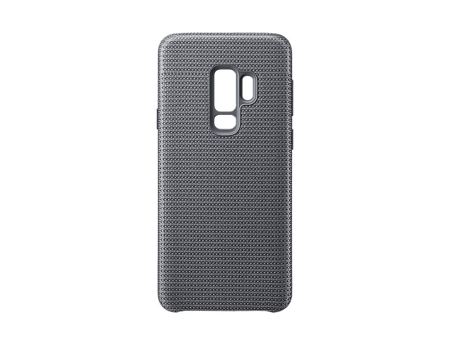 Чехол (клип-кейс) Samsung для Samsung Galaxy S9+ Hyperknit Cover серый (EF-GG965FJEGRU) чехол клип кейс samsung silicone cover для samsung galaxy s8 фиолетовый [ef pg955tvegru]