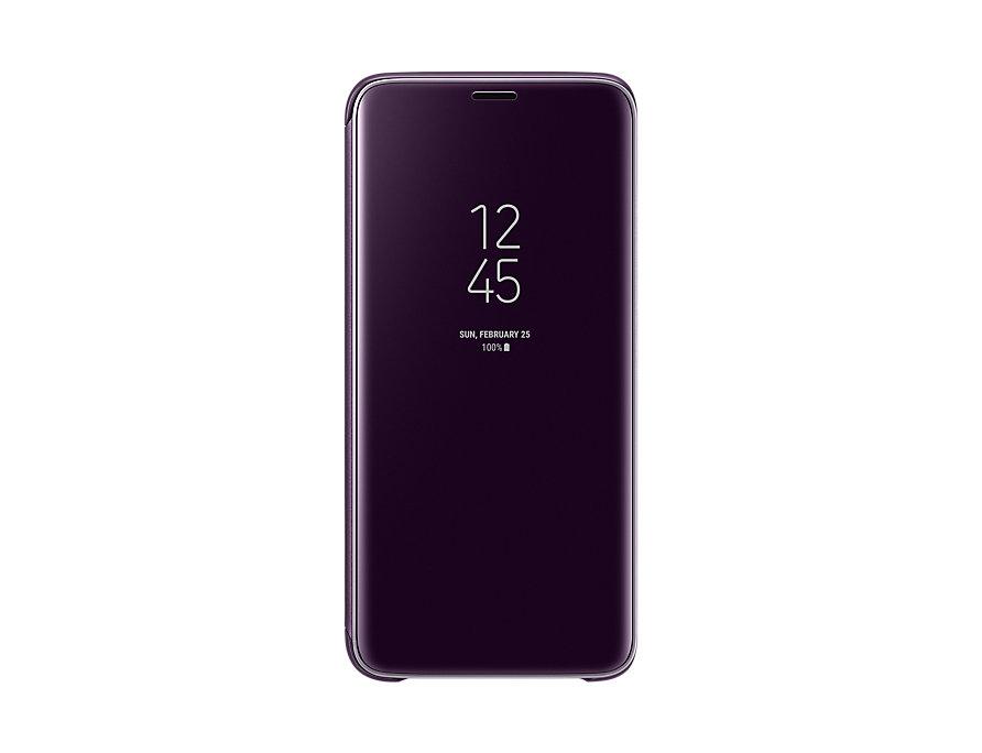 Чехол (флип-кейс) Samsung для  Galaxy S9 Clear View Standing Cover серый (EF-ZG960CVEGRU)