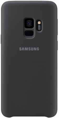 Чехол (клип-кейс) Samsung для Samsung Galaxy S9 Silicone Cover черный (EF-PG960TBEGRU) чехол клип кейс samsung clear cover для samsung galaxy s8 черный [ef qg955cbegru]
