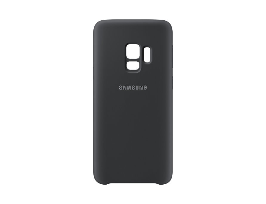 Чехол-накладка для Samsung Galaxy S9 Samsung Silicone Cover Black клип-кейс, силикон gel100601 universal silicone car key cover for vw more black
