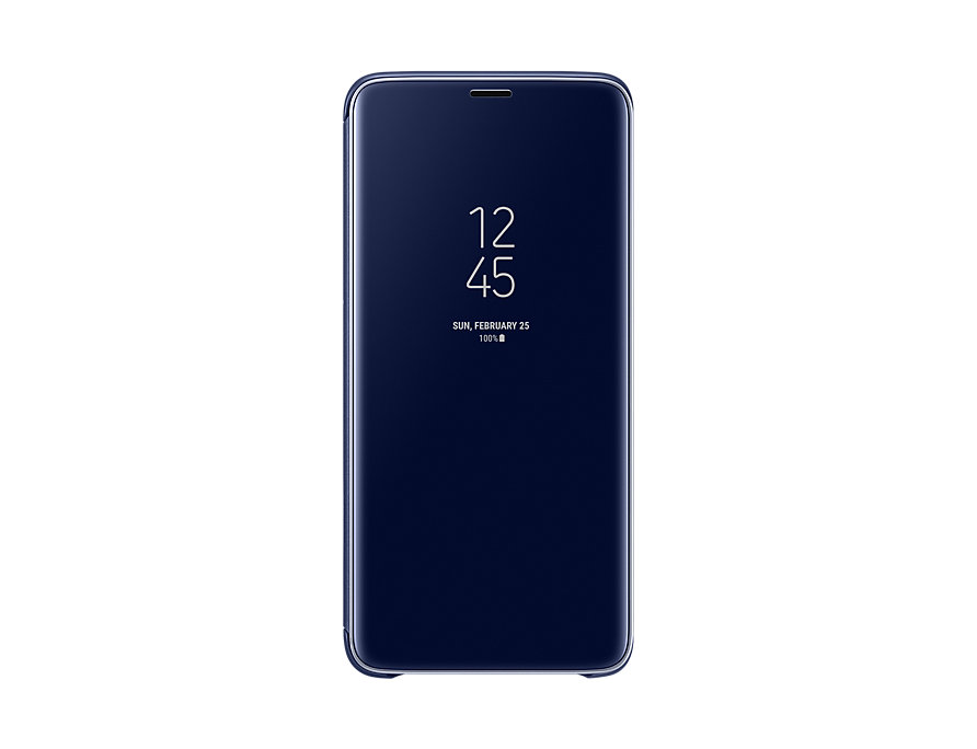 Чехол (флип-кейс) Samsung для  Galaxy S9+ Clear View Standing синий (EF-ZG965CLEGRU)