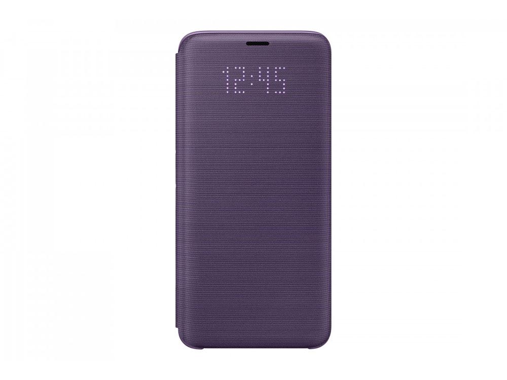 Чехол (флип-кейс) Samsung для Samsung Galaxy S9 LED View Cover фиолетовый (EF-NG960PVEGRU) samsung led view чехол для galaxy s9 violet