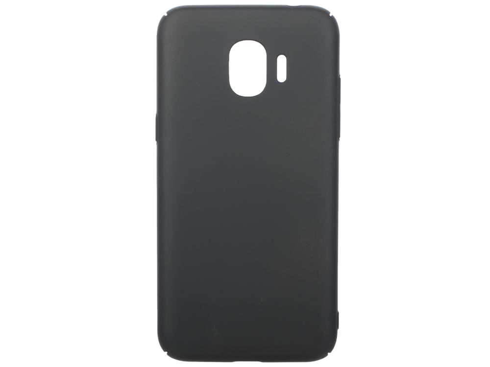 Чехол soft-touch для Samsung Galaxy J2 (2018)/J2 Pro (2018) DF sSlim-34 (black) аксессуар чехол для samsung galaxy j2 2018 j2 pro 2018 df soft touch sslim 34 pink sand