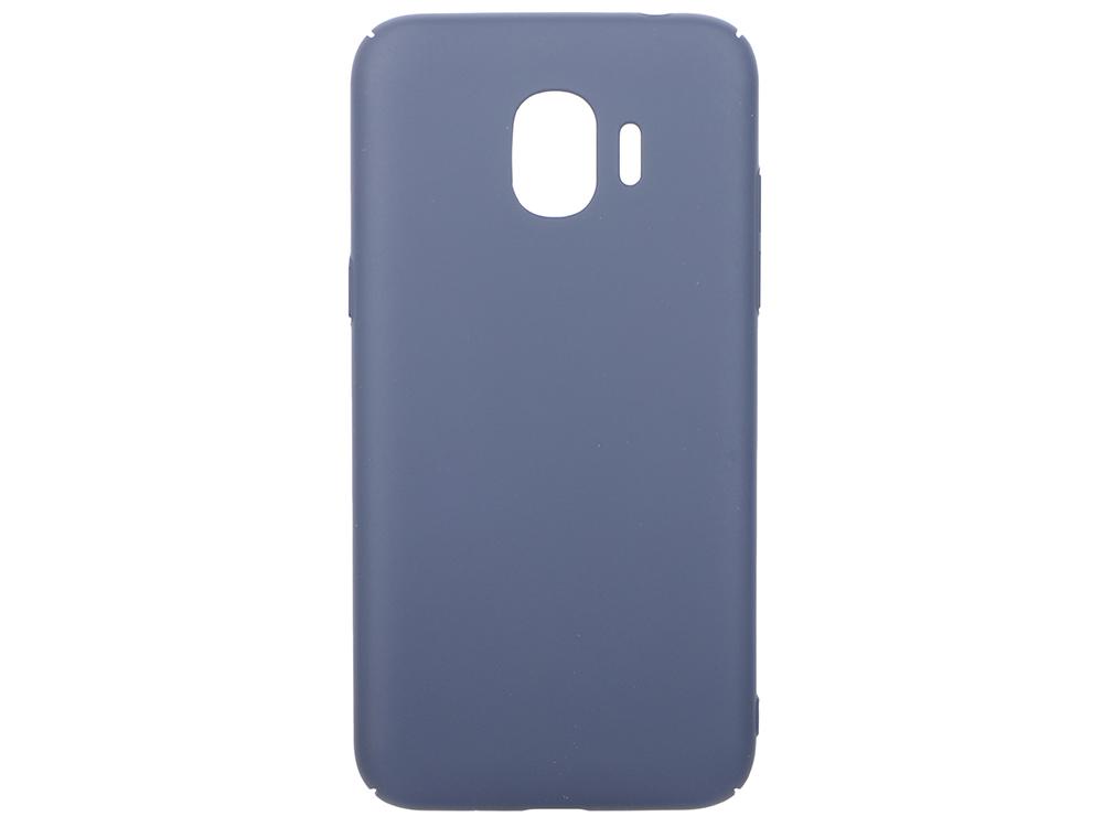 Чехол soft-touch для Samsung Galaxy J2 (2018)/J2 Pro (2018) DF sSlim-34 (midnight blue)
