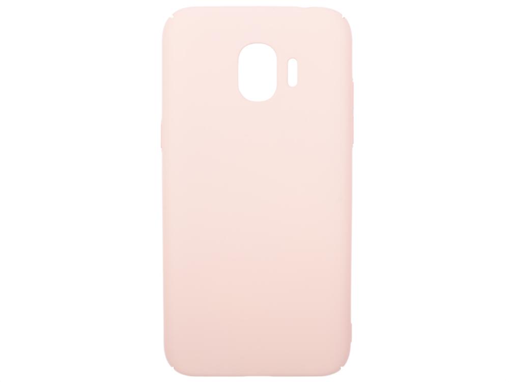 Чехол soft-touch для Samsung Galaxy J2 (2018)/J2 Pro (2018) DF sSlim-34 (pink sand) аксессуар чехол для samsung galaxy j2 2018 j2 pro 2018 df soft touch sslim 34 pink sand
