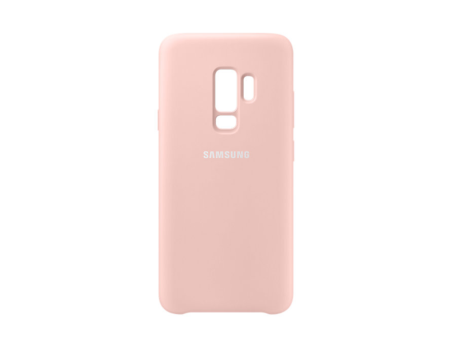 Чехол (клип-кейс) Samsung для Samsung Galaxy S9+ Silicone Cover розовый (EF-PG965TPEGRU) клип кейс samsung silicone cover для galaxy s8 зеленый