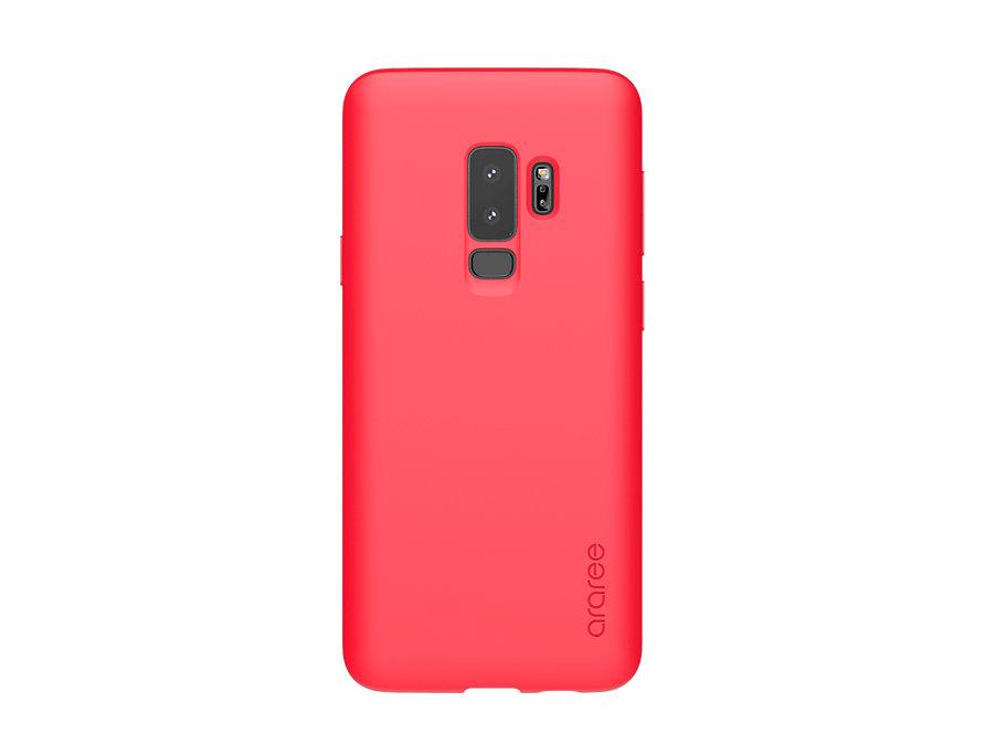 Чехол (клип-кейс) Samsung для Samsung Galaxy S9+ Airfit Pop красный (GP-G965KDCPBID) чехол клип кейс samsung для samsung galaxy s9 airfit pop фиолетовый gp g965kdcpbic