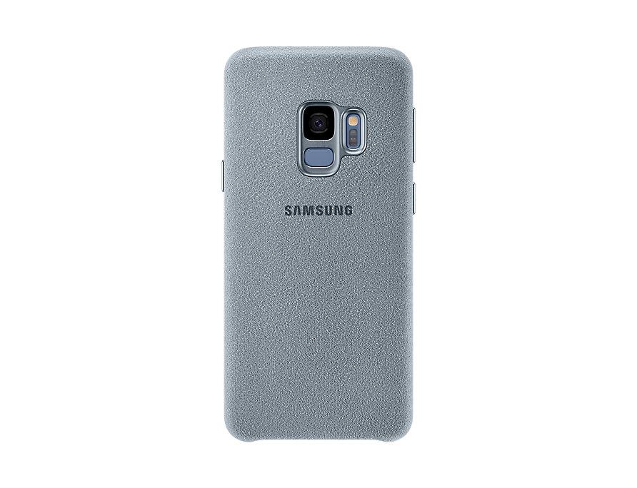 цена на Чехол-накладка для Samsung Galaxy S9 Samsung Alcantara Mint клип-кейс, поликарбонат