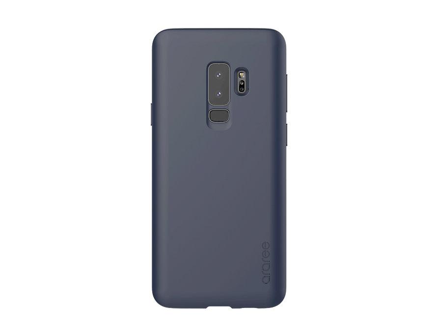 Чехол-накладка для Samsung Galaxy S9+ Airfit Blue клип-кейс, полиуретан, супертонкий blue flower design кожа pu откидной крышки кошелек карты держатель чехол для samsung j5prime