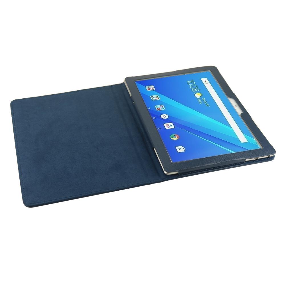 Чехол IT BAGGAGE для планшета LENOVO Tab 4 10 TB-X704L Plus синий ITLNT4107-4 it baggage чехол для lenovo tab 3 8 plus 8703x black