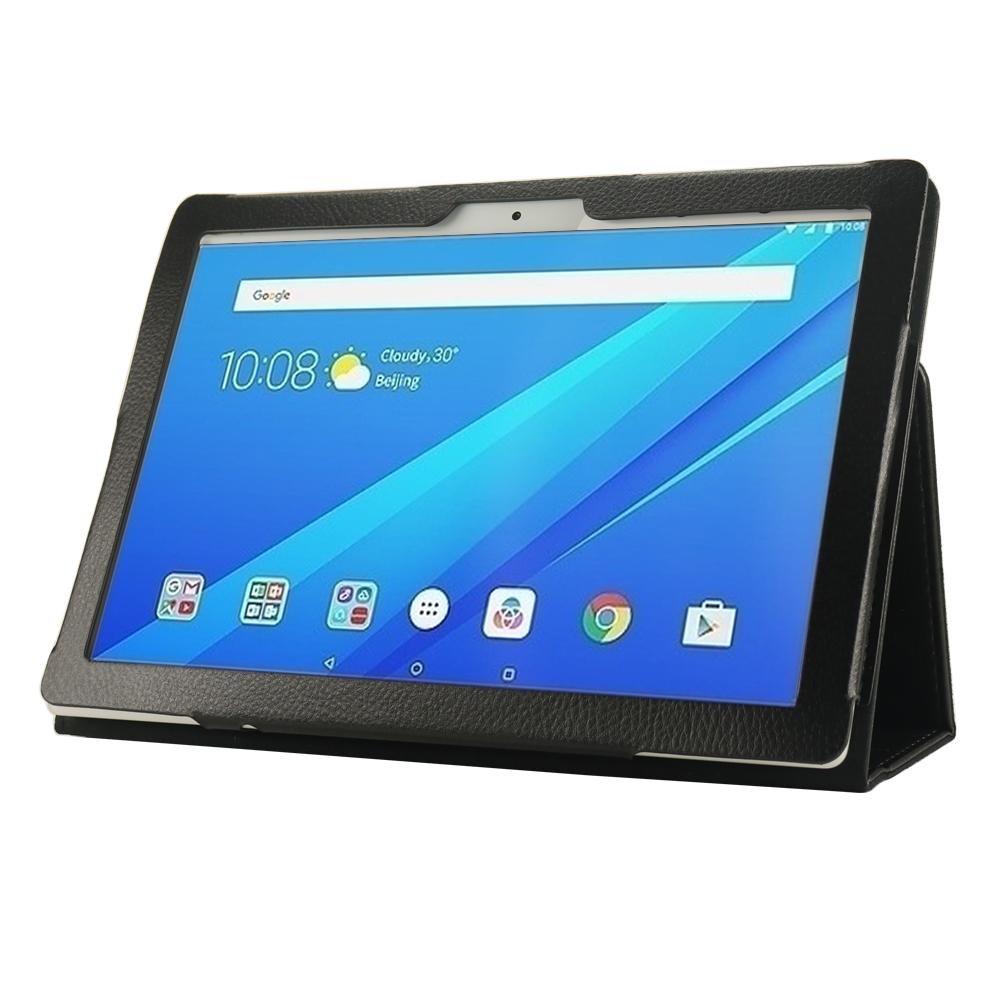 Чехол IT BAGGAGE для планшета LENOVO Tab 4 10 TB-X704L Plus чёрный ITLNT4107-1 чехол it baggage для планшета lenovo tab 4 tb x304l 10 синий itlnt410 4