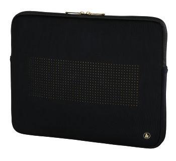 Чехол для ноутбука 13.3 HAMA неопрен черный/золотистый 00101795 чехол для ноутбука 13 3 hama bag organiser черный неопрен 00101789