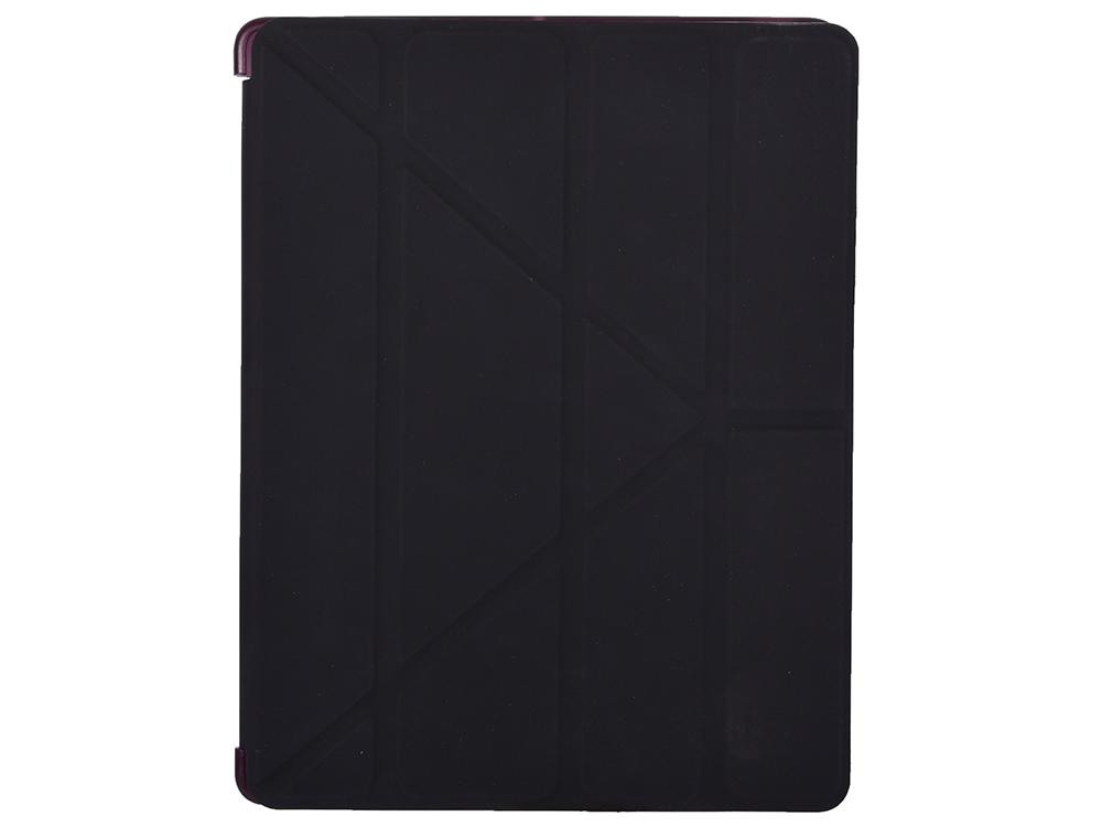 цена на Чехол-книжка для iPad 2/3/4 BoraSCO 20280 Black флип, пластик