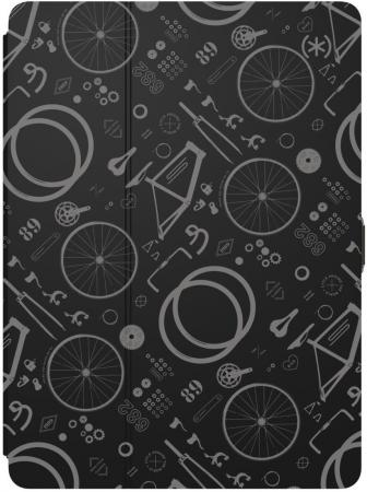Фото - Чехол-книжка Speck Balance Folio Print - BikeParts Black/Ash Grey для iPad Pro 9.7 чёрный 91503-6847 random floral print stretch waist sleeveless strappy dress in grey