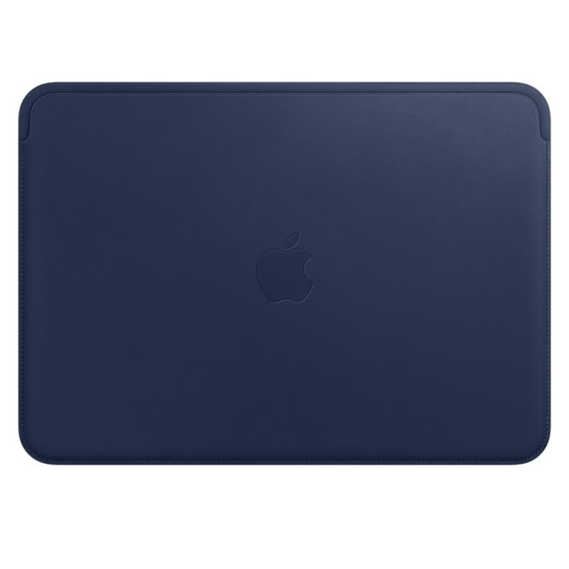 Чехол для ноутбука 12 Apple Leather Sleeve кожа синий MQG02ZM/A чехол для ноутбука 14 printio hands