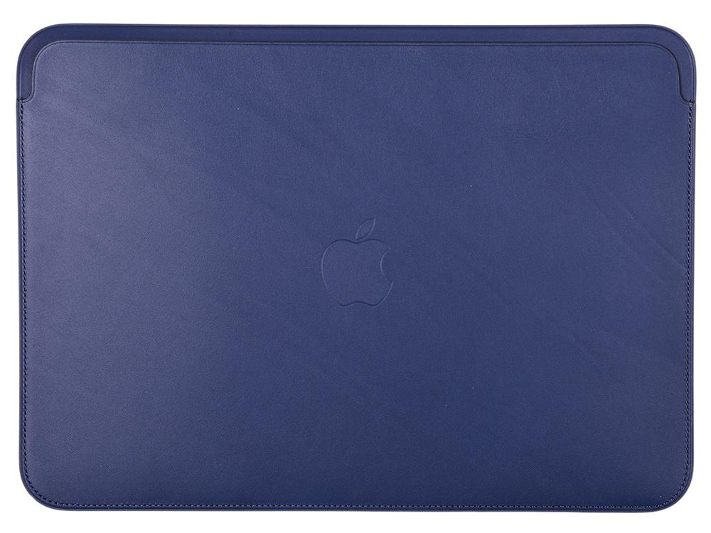 Чехол для ноутбука 12 Apple Leather Sleeve кожа синий MQG02ZM/A