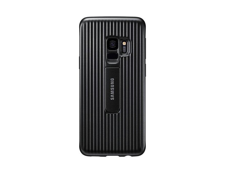 Чехол (клип-кейс) Samsung для Samsung Galaxy S9 Protective Standing черный (EF-RG960CBEGRU) чехол клип кейс samsung clear cover для samsung galaxy s8 черный [ef qg955cbegru]