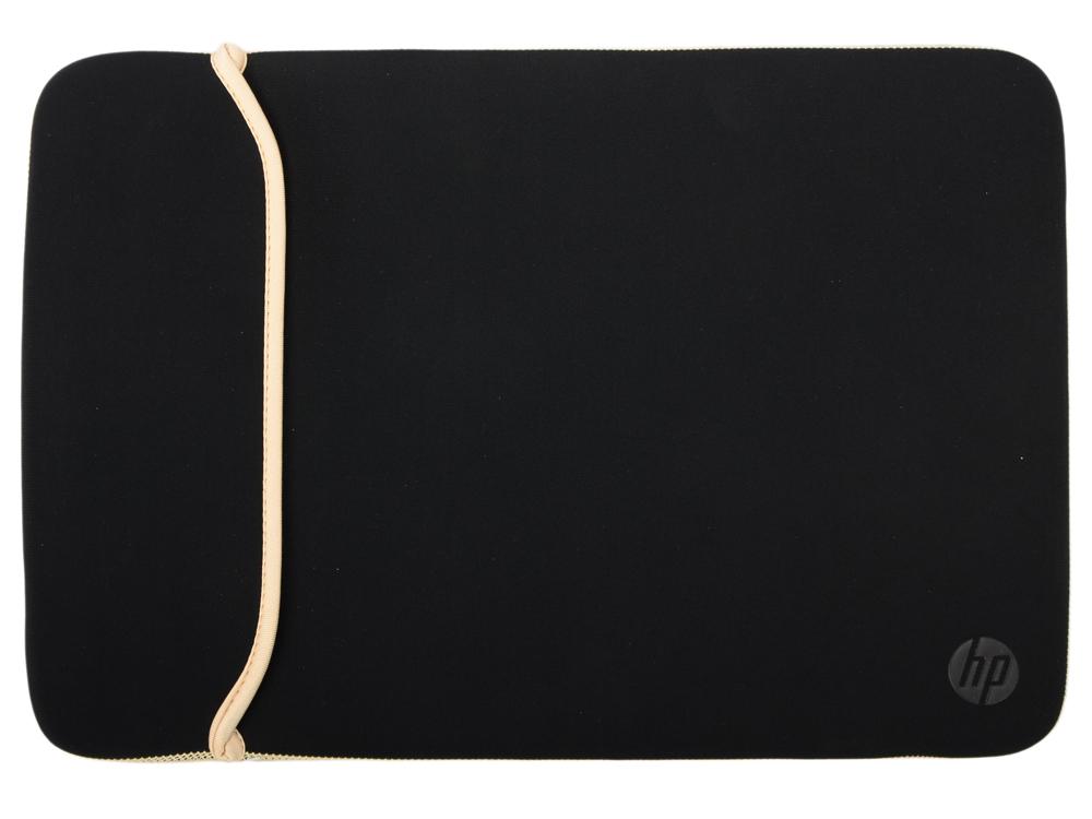 Чехол для ноутбука 15.6 HP BLKGold Chroma Sleeve 2UF60AA папка для ноутбука до 13 hp chroma reversible sleeve v5c24aa