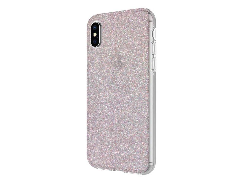 Чехол Incipio Design Series Classic для iPhone X. Материал пластик. Дизайн Multi-Glitter. glitter criss cross design sandals