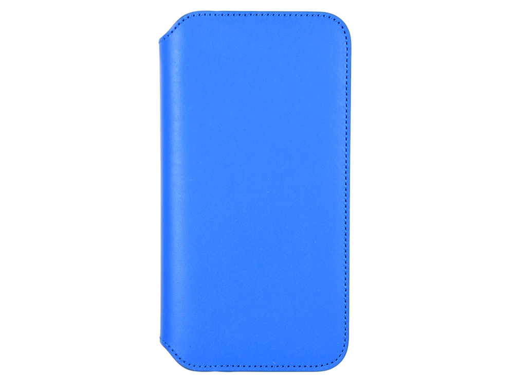 Чехол-книжка для iPhone X Leather Folio Electric Blue флип, кожа apple leather folio чехол для iphone x taupe
