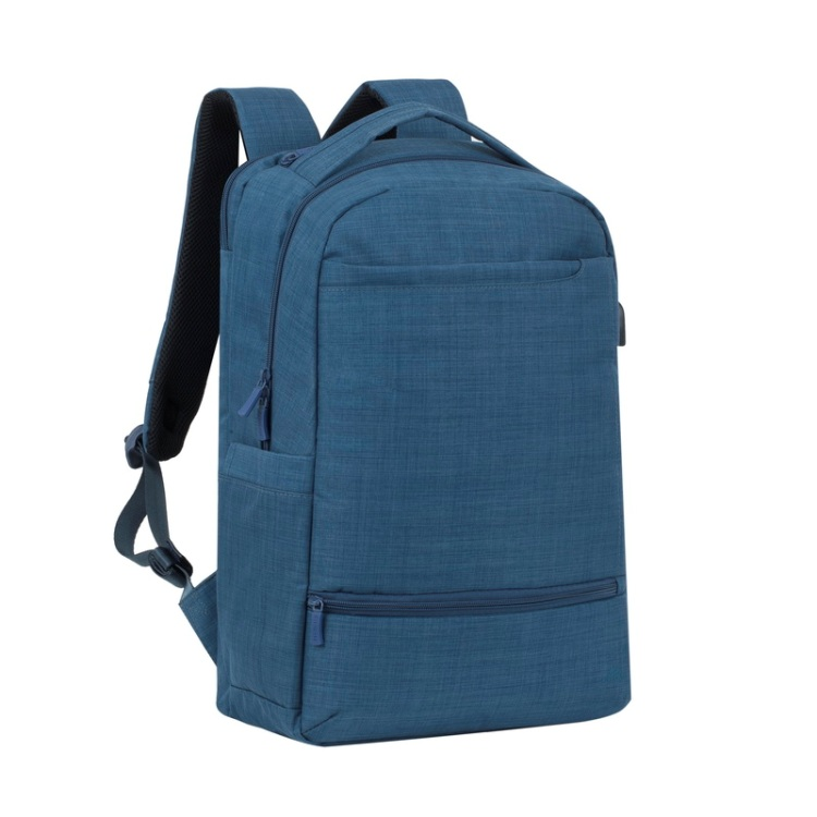 Рюкзак для ноутбука 17.3 Riva 8365 полиэстер синий riva 9101 ultraviolet