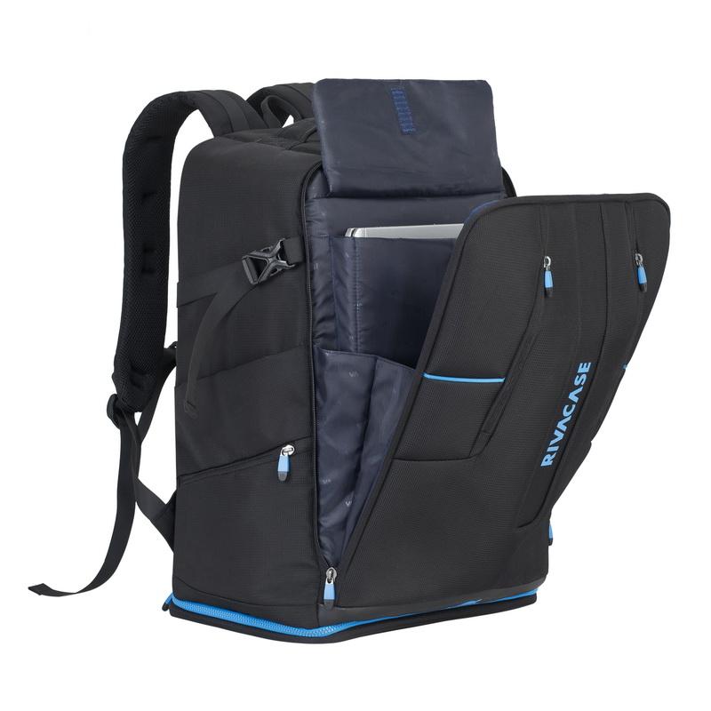 рюкзак 17 3 riva 7860 черный Рюкзак для ноутбука 16 Riva 7890 полиэстер черный