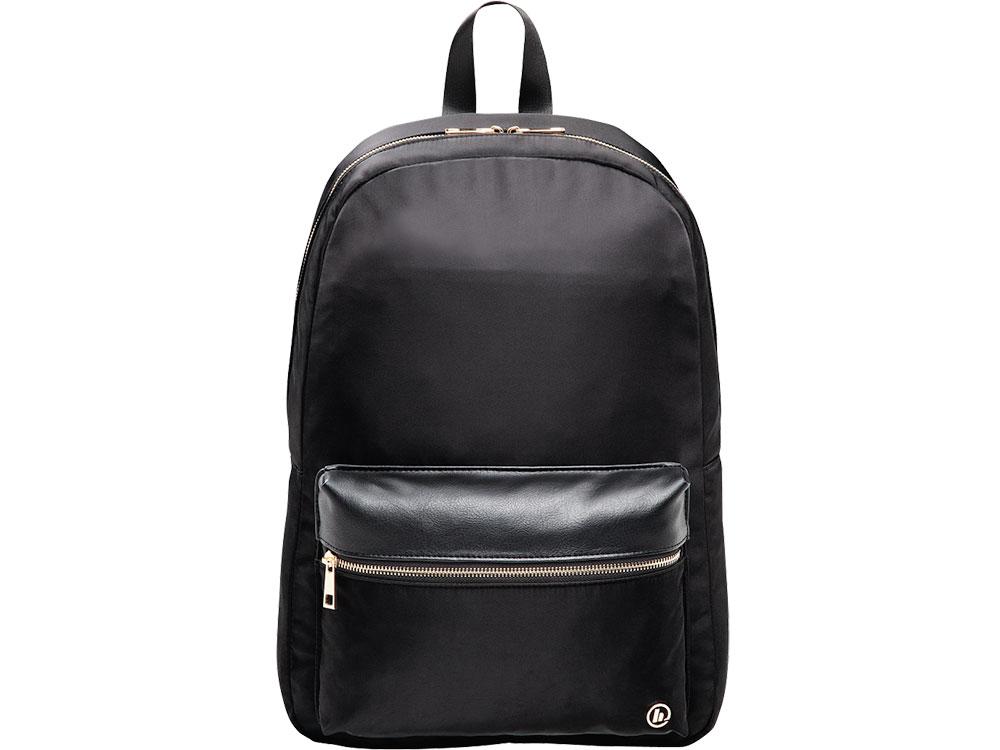 Рюкзак для ноутбука 14 HAMA Mission полиэстер черный/золотистый 00101588 рюкзак hama sweet owl pink blue