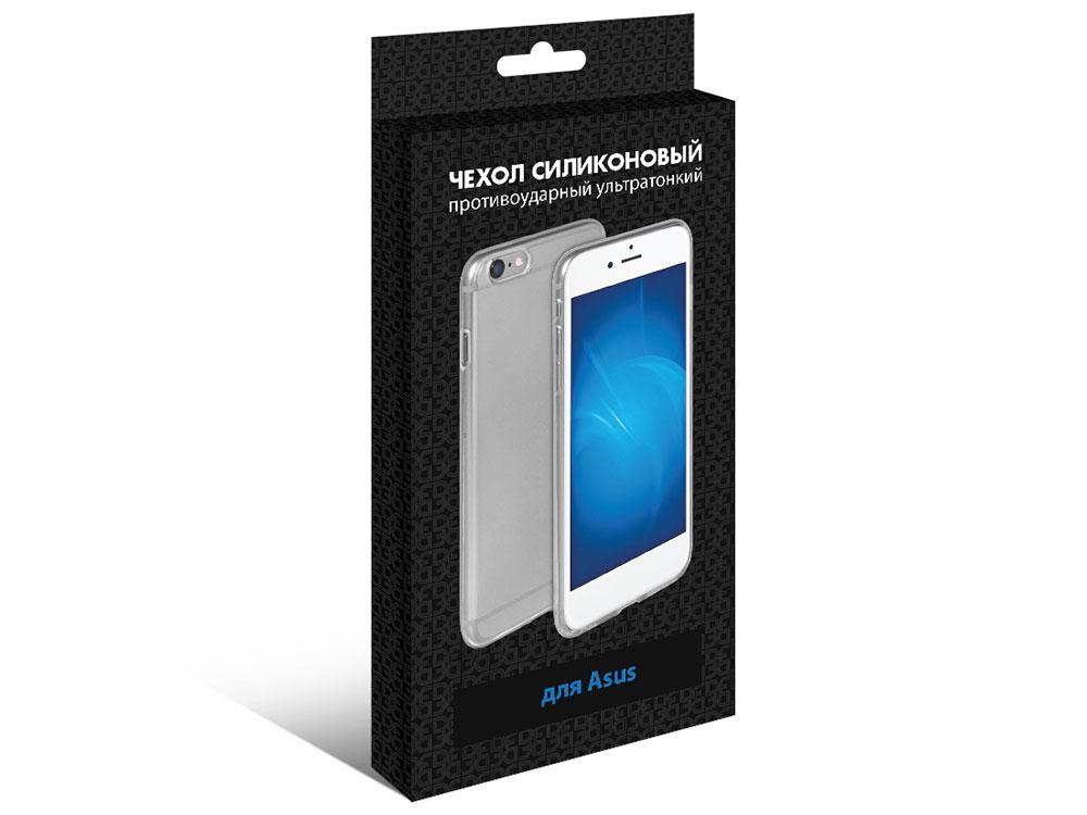 Силиконовый супертонкий чехол для Asus Zenfone 5z (ZS620KL) DF aCase-49 силиконовый чехол для asus zenfone 4 selfie pro zd552kl df acase 43