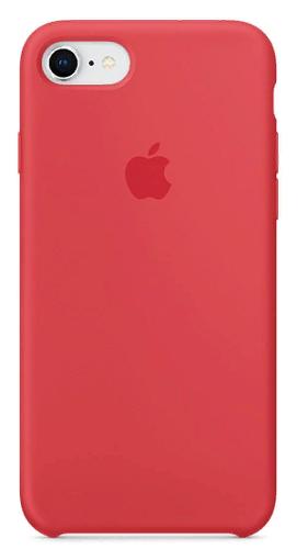 Чехол для смартфона iPhone 8 / 7 Silicone Case - Red Raspberry чехол аккумулятор deppa nrg case 2600 mah для iphone 7 белый 33520