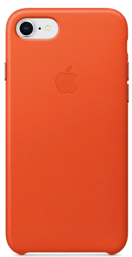 Чехол для смартфона iPhone 8 / 7 Leather Case - Bright Orange fashion 360 rotating case for ipad pro 12 9 inch litchi leather stand back cover apple fundas