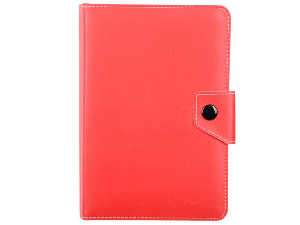 Чехол-книжка универсальный для планшета 7 IT BAGGAGE ITUNI79-3 Red флип, искусственная кожа