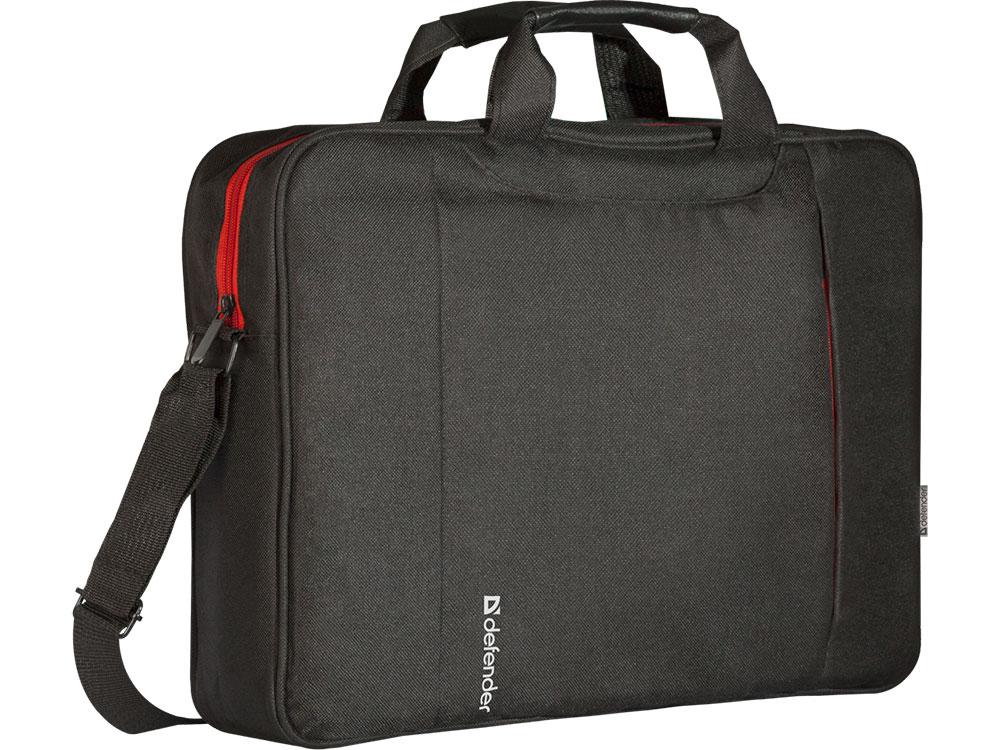 Сумка DEFENDER для ноутбука Geek 15.6 черный сумка для ноутбука 16 defender shiny синтетика полиэстер черный 26097