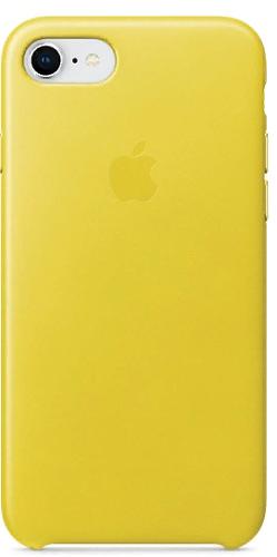 Чехол для смартфона iPhone 8 / 7 Leather Case - Spring Yellow стоимость