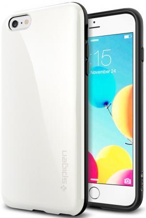 Чехол (клип-кейс) SGP Capella Case для iPhone 6 Plus белый SGP11087 цена