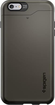 Чехол (клип-кейс) SGP Slim Armor CS Case для iPhone 6 Plus серый SGP10910 цена