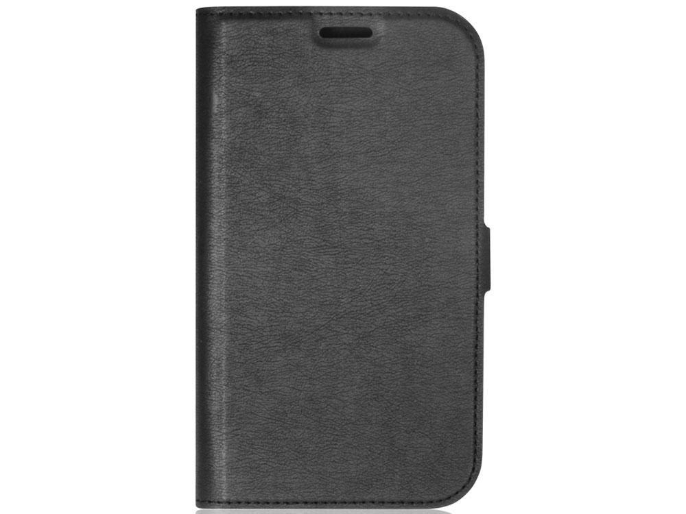 Чехол-книжка для Samsung Galaxy A6 2018 DF sFlip-29 Black флип, искусственная кожа, пластик чехол книжка red line book type для xiaomi redmi 5 black