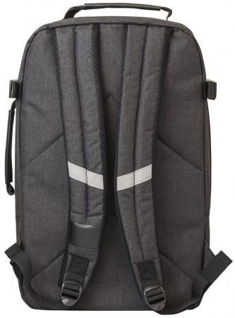 Рюкзак ACTION городской,  отделением для ноутбука, размер 46x29.5x15 см, черный, /мальчиков